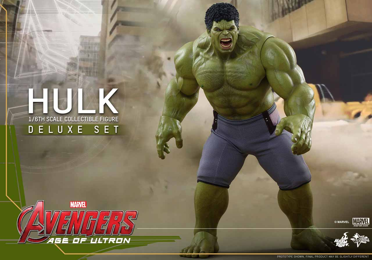 Avengers: Age of Ultron - L'action figure Hot Toys di Hulk