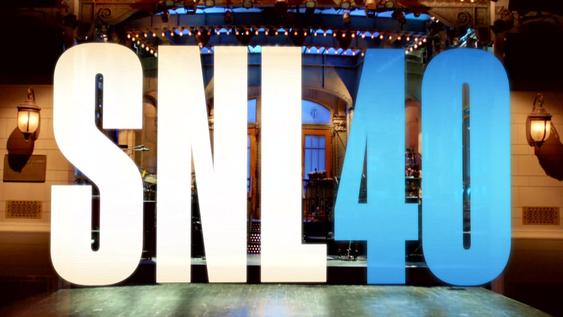 Saturday Night Live: un'immagine dalla puntata celebrativa del 40mo anniversario