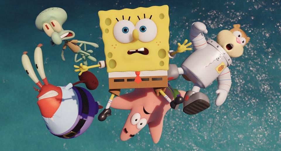 SpongeBob - Fuori dall'acqua: una scena subacquea del colorato film d'animazione