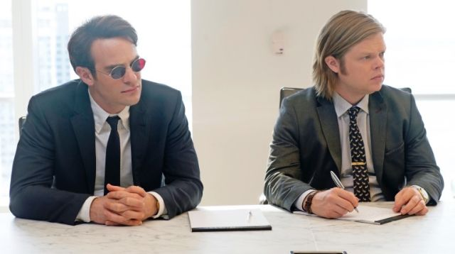 Daredevil: Charlie Cox ed Elden Henson interpretano Matt Murdock e Foggy Nelson