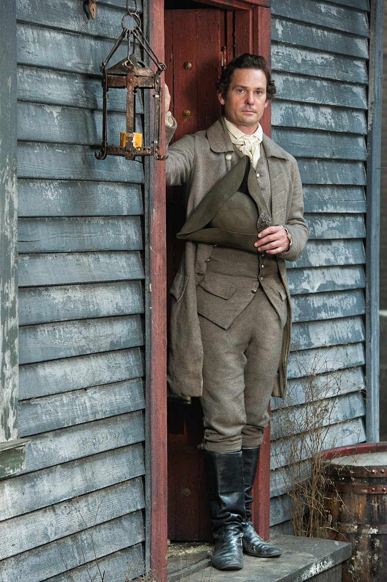 Sons of Liberty: Henry Thomas in un'immagine promozionale