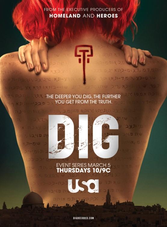 DIG: la locandina della serie