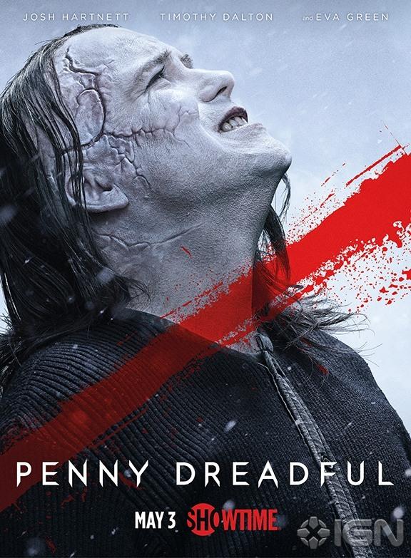 Penny Dreadful: il poster dedicato alla Creatura, tra i protagonisti della seconda stagione