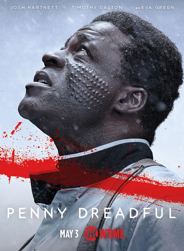 Penny Dreadful: il character poster della seconda stagione dedicato a Sembene