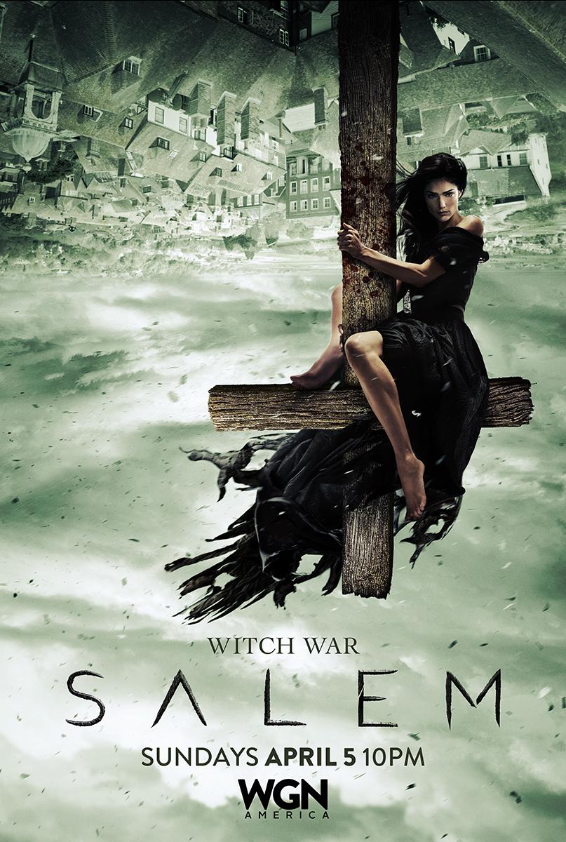 Salem: un poster della seconda stagione annuncia la guerra delle streghe