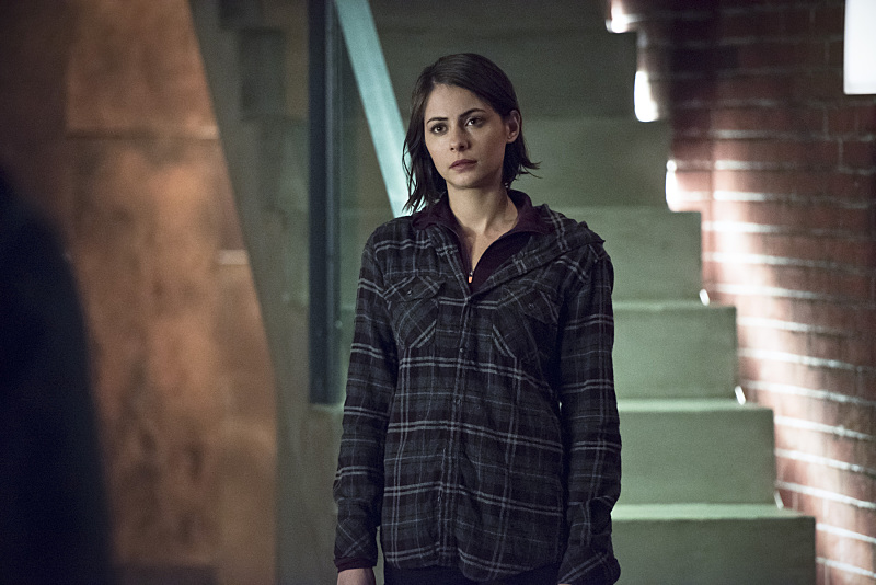 Arrow: l'attrice Willa Holland interpreta Thea nell'episodio Canaries