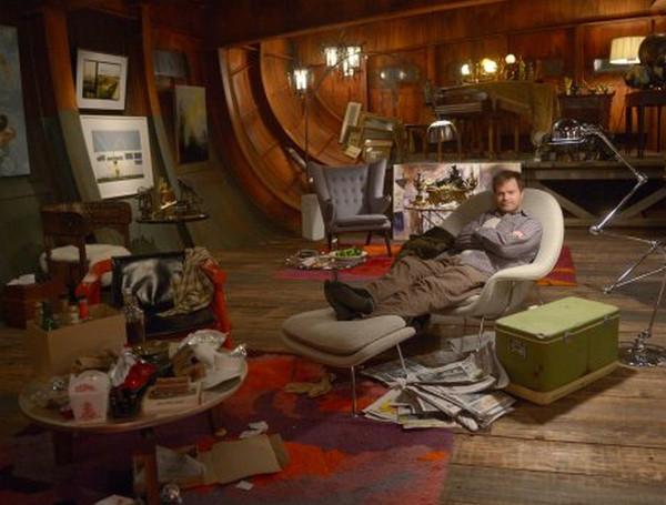 Backstrom: il protagonista Rainn Wilson in una scena della puntata Dragon Slayer