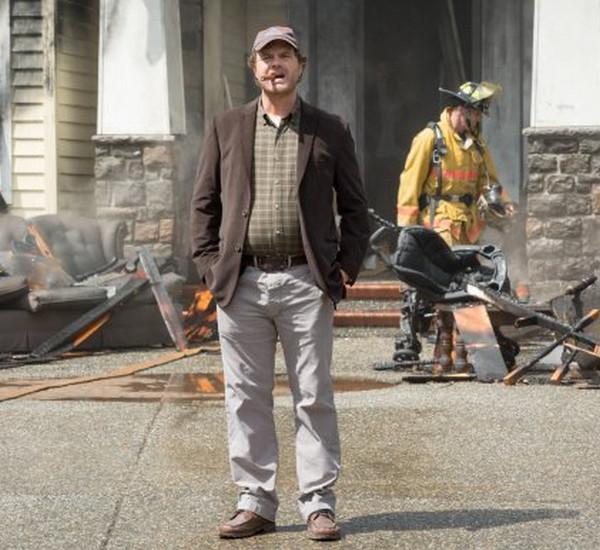 Backstrom: l'attore Rainn Wilson è il detective Backstrom nell'episodio Bella