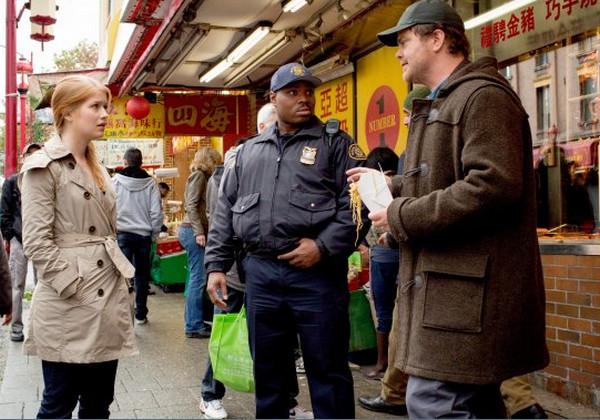Backstrom: Genevieve Angelson e Rainn Wilson nella puntata intitolata Ancient, Chinese, Secret