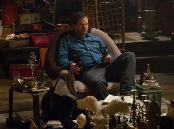 Backstrom: il protagonista Rainn Wilson in una scena della puntata Ancient, Chinese, Secret