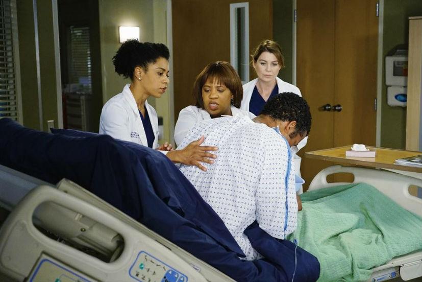 Grey's Anatomy: Kelly McCreary, Chandra Wilson ed Ellen Pompeo in The Great Pretender