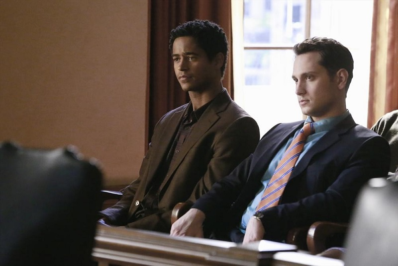 How To Get Away With Murder: Alfred Enoch e Matt McGorry in Mama's Here Now