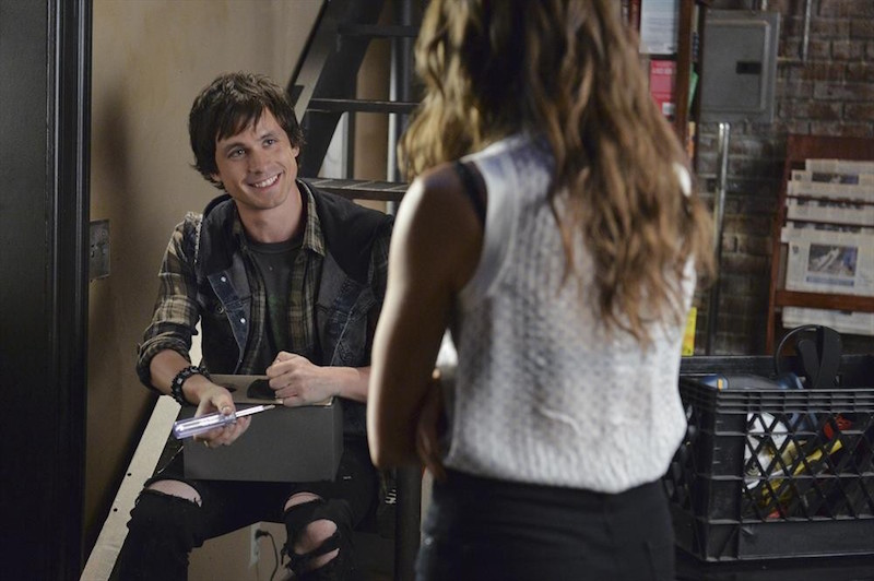 Pretty Little Liars: Will Bradley in una scena dell'episodio Oh What Hard Luck Stories They All Hand Me