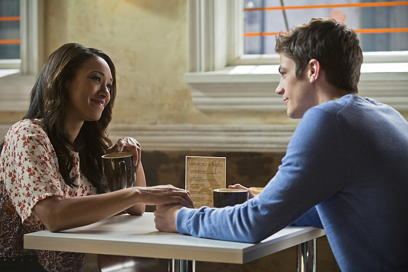 The Flash: Candice Patton e Grant Gustin nella puntata Crazy for You