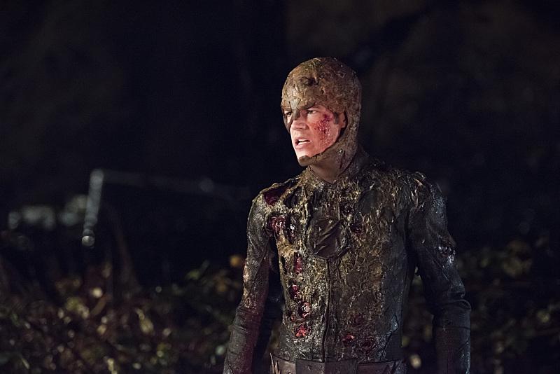 The Flash: il protagonista Grant Gustin nella puntata intitolata Fallout