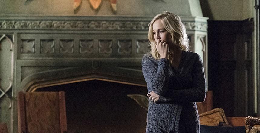The Vampire Diaries: l'attrice Candice Accola interpreta Caroline Forbes in Let Her Go