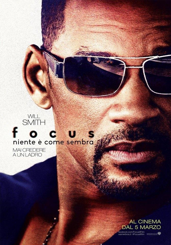 Focus - Niente è come sembra: il character poster italiano con Will Smith