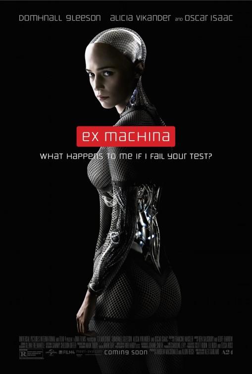 Ex Machina: la nuova locandina