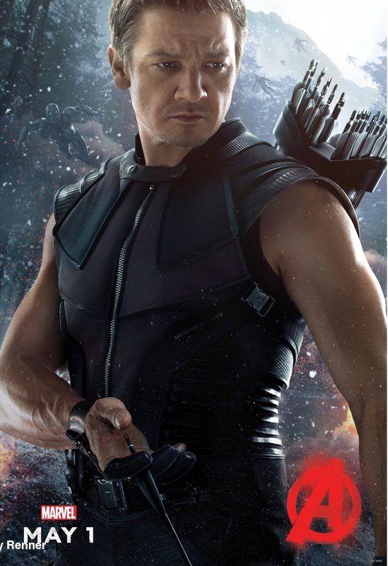 Avengers: Age of Ultron - Il character poster di Occhio di Falco
