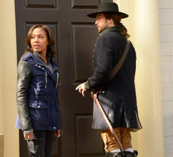Sleepy Hollow: Nicole Beharie e Tom Mison in Tempus Fugit