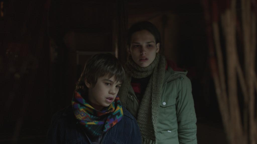 Cloro: Sara Serraiocco con Anatol Sassi in una scena