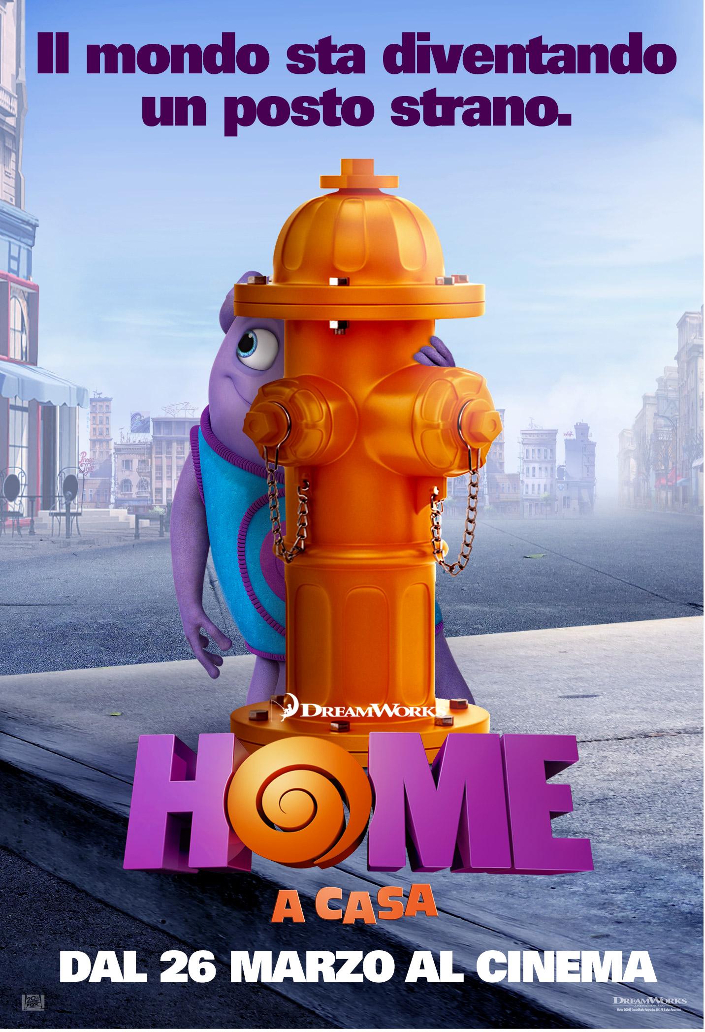 Home - A casa: uno dei character poster italiani del film dedicato a Oh