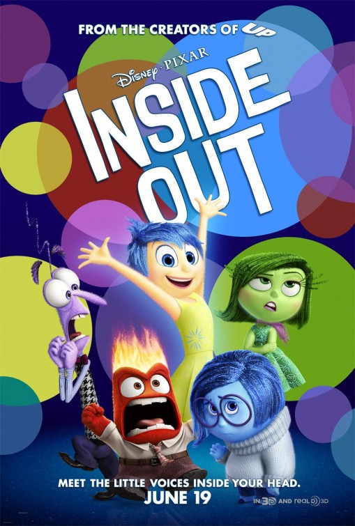 Una locandina originale di Inside Out