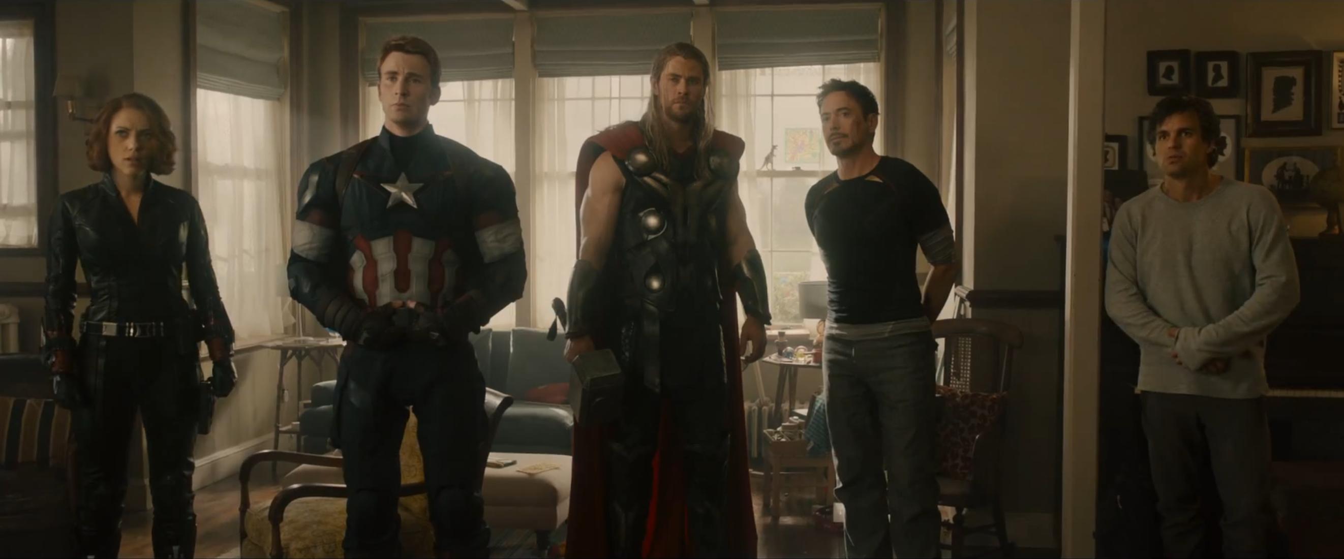 Gli Avengers nel trailer di 'Age of Ultron'