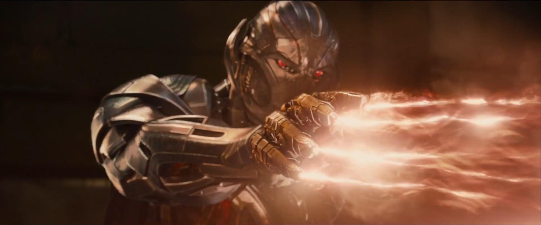 Ultron in una immagine tratta dal trailer di Avengers 2