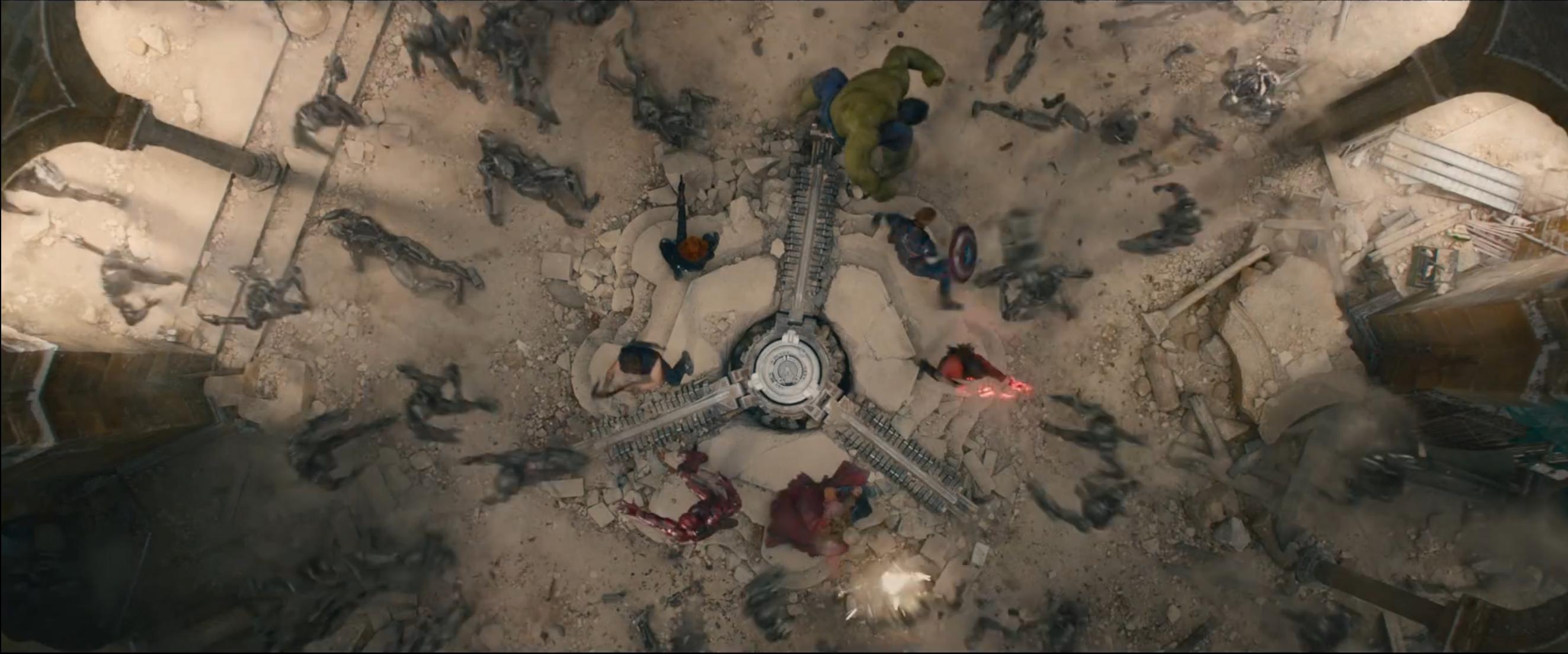 Avengers: Age of Ultron - I Vendicatori impegnati in battaglia dal trailer finale