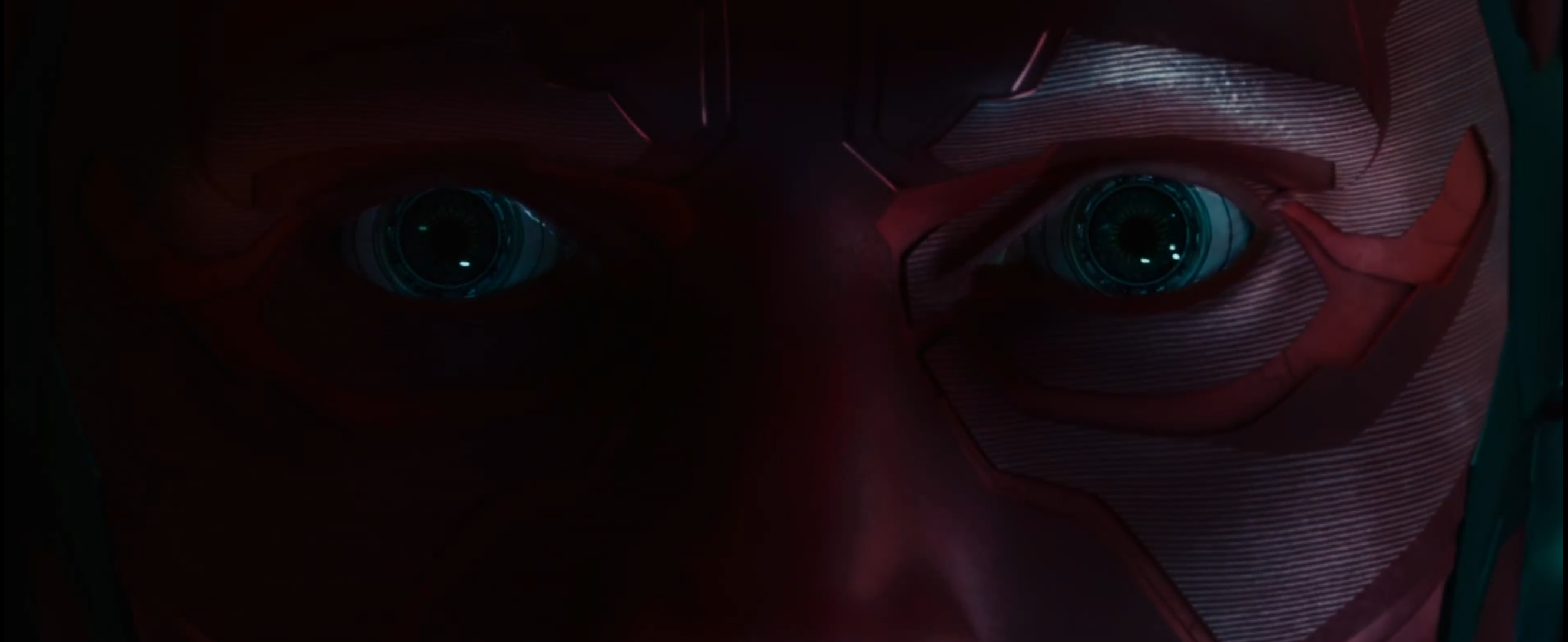 Paul Bettany è Vision in 'Avengers: Age of Ultron'