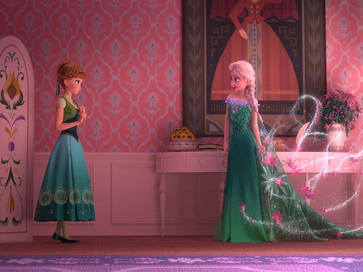 Frozen Fever - una scena del corto