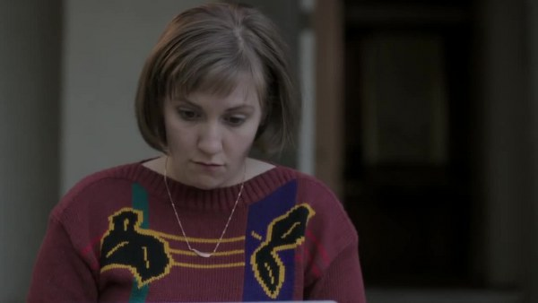 Girls: la protagonista Lena Dunham nell'episodio intitolato Cubbies