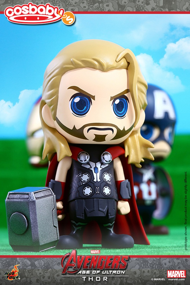 Avengers: Age of Ultron - Thor in versione Cosbaby