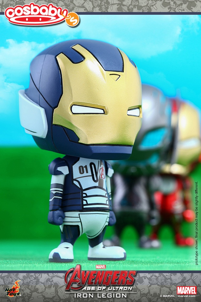 Avengers: Age of Ultron - Iron Legion in versione Cosbaby
