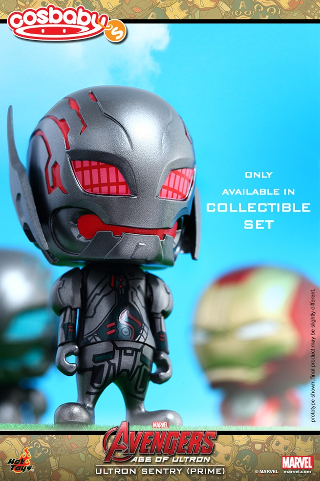 Avengers: Age of Ultron - Ultron Sentry (Prime) in versione Cosbaby
