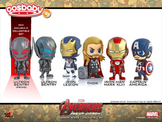 Avengers: Age of Ultron - I personaggi del film in versione Cosbaby