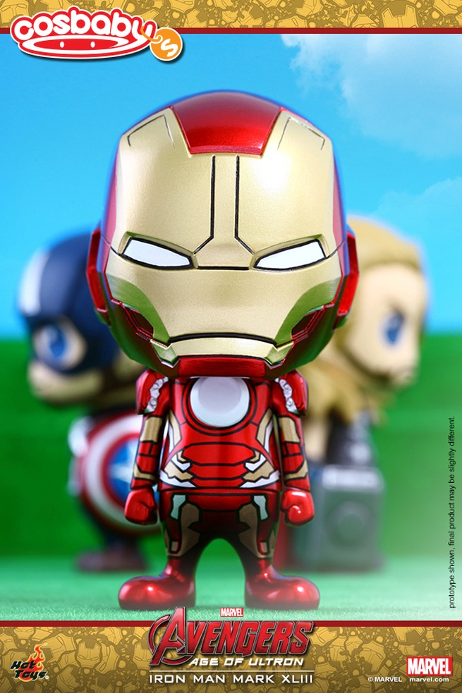 Avengers: Age of Ultron - Iron Man in versione Cosbaby