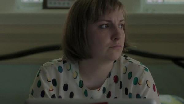 Girls: Hannah (Lena Dunham) in una scena dell'episodio Cubbies