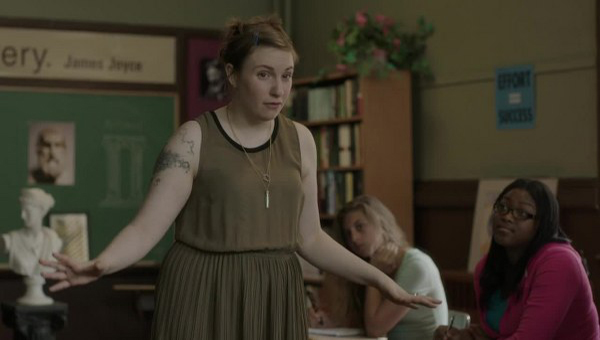 Girls: Lena Dunham nella puntata Ask Me My Name