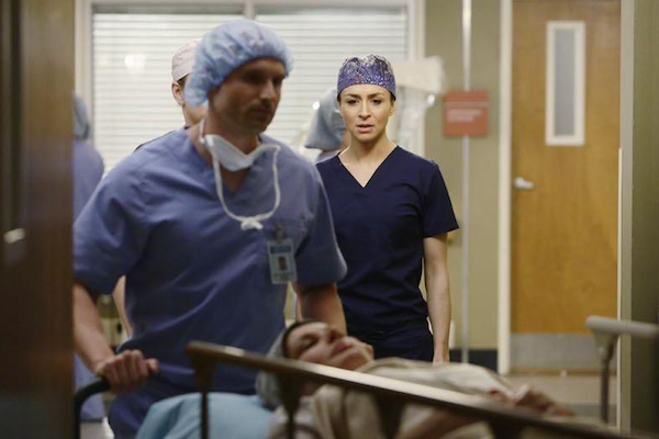 Grey's Anatomy: l'attrice Caterina Scorsone nella puntata The Distance