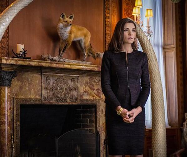 The Good Wife: l'attrice Julianna Margulies in una scena dell'episodio Dark Money