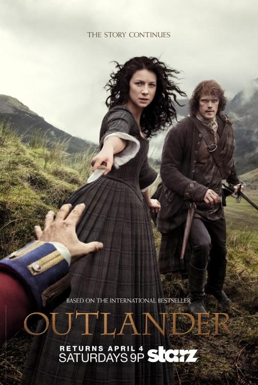 Outlander: una locandina per la seconda stagione della serie