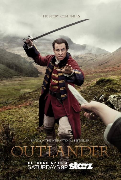 Outlander: una locandina per la seconda stagione