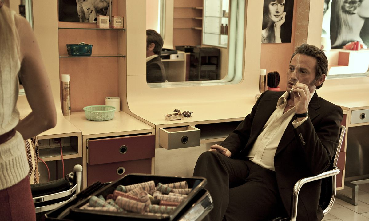 French Connection: Benoît Magimel in una scena del film