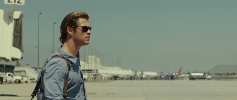 Blakchat: Chris Hemsworth in una scena del film