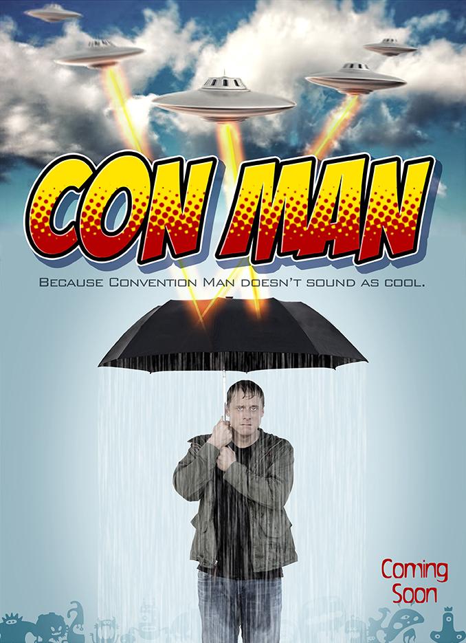 Con Man: il poster della serie ideata da Alan Tudyk e Nathan Fillion