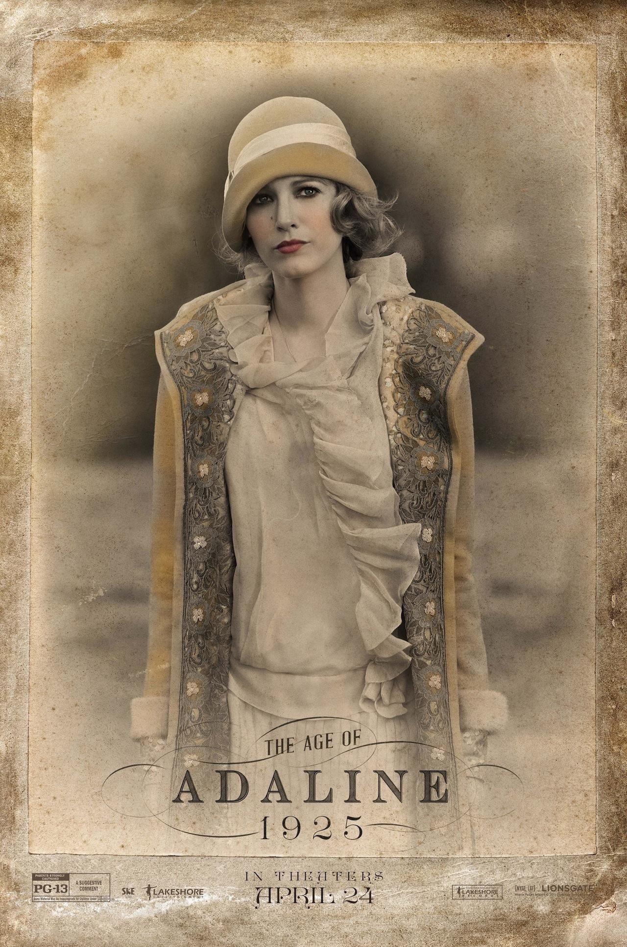 The Age of Adaline: Blake Lively in versione 'antica' in una nuova locandina