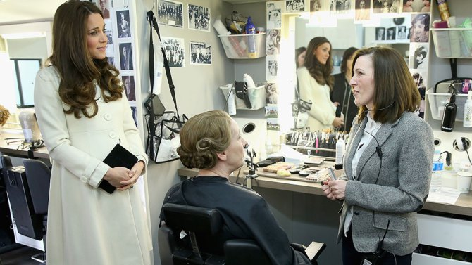 Downton Abbey: Kate Middleton al reparto make-up
