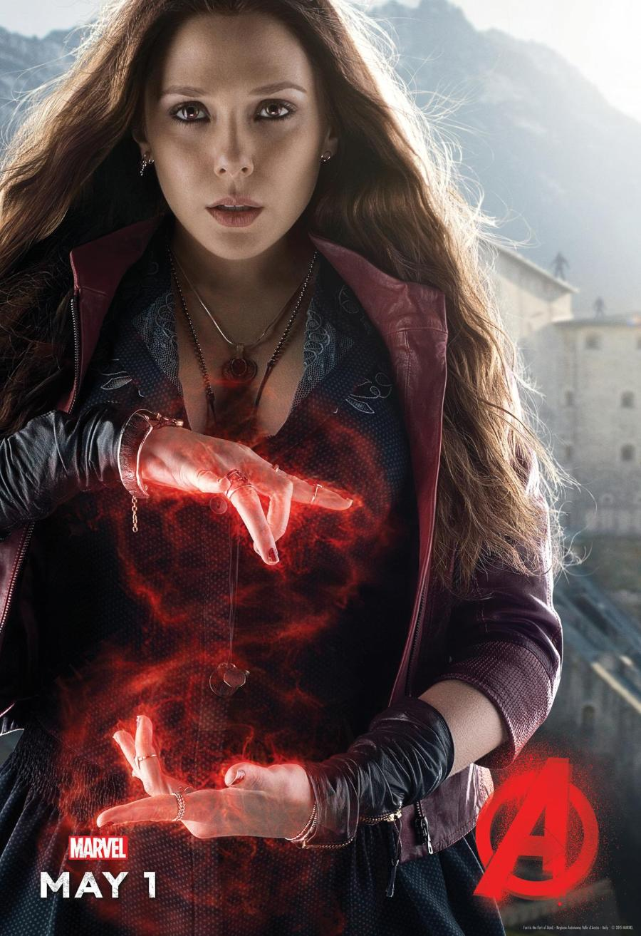 Avengers: Age of Ultron - Il character poster di Scarlet Witch